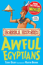 Horrible Histories: Awful Egyptians by Terry Deary