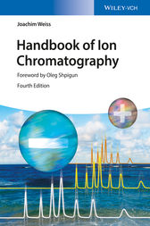 Handbook of Ion Chromatography by Joachim Weiss