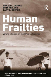 Human Frailties by Ronald J. Burke
