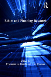 Ethics and Planning Research by Francesco Lo Piccolo
