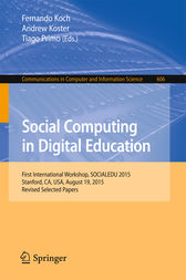 Social Computing in Digital Education by Fernando Koch