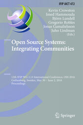 Open Source Systems: Integrating Communities by Kevin Crowston