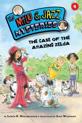 #4 The Case of the Amazing Zelda by Lewis B. Montgomery