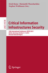 Critical Information Infrastructures Security by Erich Rome