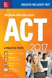 McGraw-Hill Education ACT 2017 Edition by Steven W. Dulan