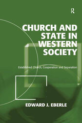 Church and State in Western Society by Edward J. Eberle