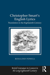 Christopher Smart's English Lyrics by Rosalind Powell
