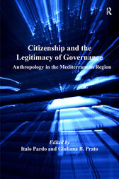 Citizenship and the Legitimacy of Governance by Italo Pardo