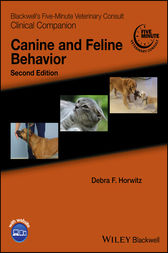 Blackwell's Five-Minute Veterinary Consult Clinical Companion by Debra F. Horwitz