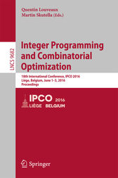 Integer Programming and Combinatorial Optimization by Quentin Louveaux
