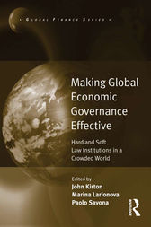 Making Global Economic Governance Effective by Marina Larionova