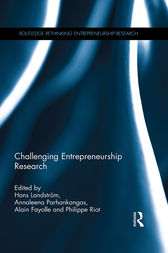 Challenging Entrepreneurship Research by Hans Landstrom