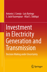 Investment in Electricity Generation and Transmission by Antonio J. Conejo
