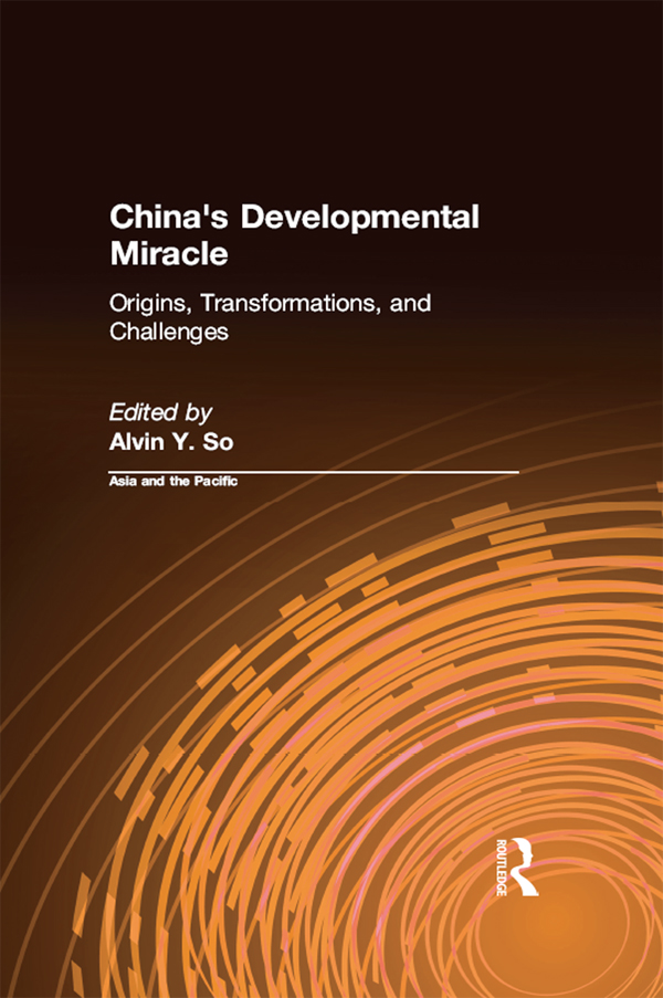 Download Ebook China's Developmental Miracle by Alvin Y. So Pdf
