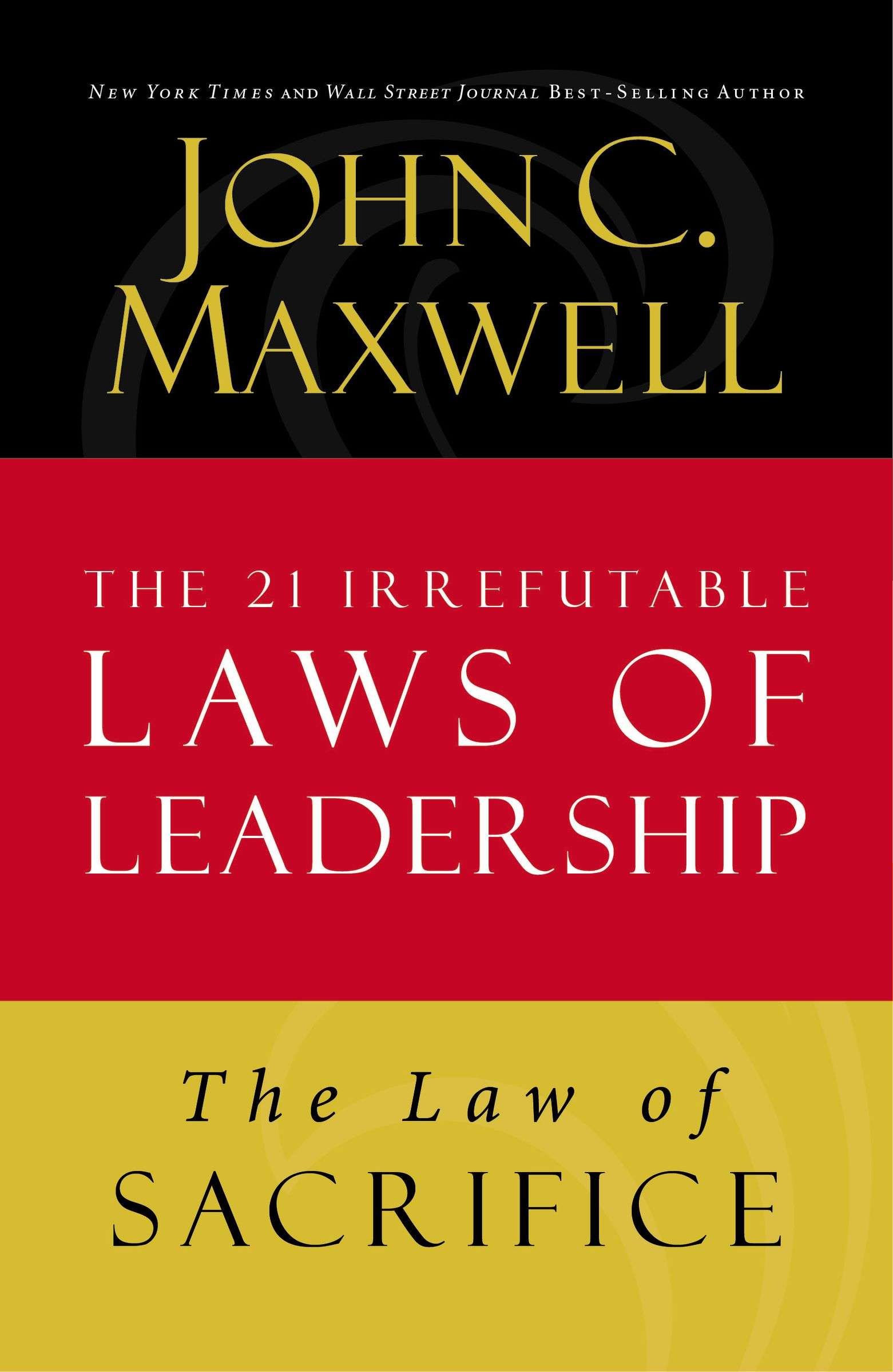 Download Ebook The Law of Sacrifice by John C. Maxwell Pdf