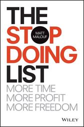 The Stop Doing List by Matt Malouf