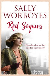 Red Sequins by Sally Worboyes
