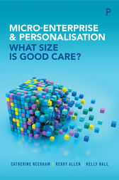 Micro-enterprise and personalisation by Catherine Needham