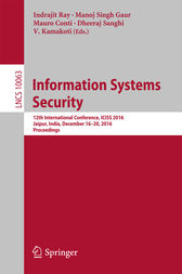 Information Systems Security by Indrajit Ray