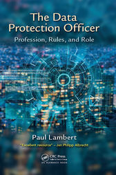 The Data Protection Officer by Paul Lambert