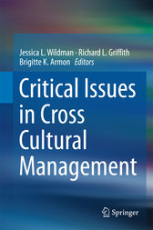 Critical Issues in Cross Cultural Management by Jessica L. Wildman