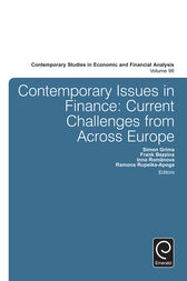 Contemporary Issues in Finance by Simon Grima