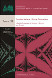 Quantum Matter at Ultralow Temperatures by M. Inguscio