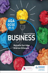 AQA GCSE (9-1) Business by Malcolm Surridge