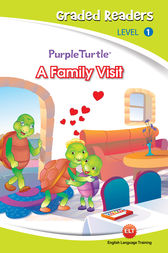 A family visit (Purple Turtle, English Graded Readers, Level 1) by Cari Meister