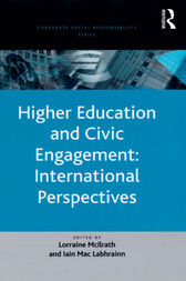 Higher Education and Civic Engagement: International Perspectives by Iain Mac Labhrainn