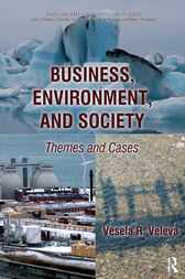 Business, Environment, and Society by Vesela R. Veleva