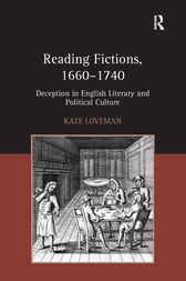 Reading Fictions, 1660-1740 by Kate Loveman
