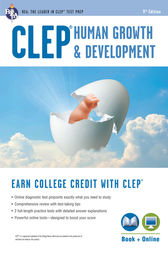 CLEP® Human Growth & Development Book + Online by Patricia Heindel