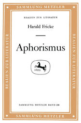 Aphorismus by Harald Fricke