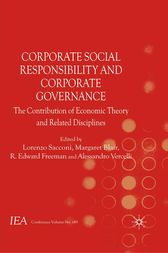 Corporate Social Responsibility and Corporate Governance by Lorenzo Sacconi