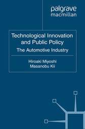 Technological Innovation and Public Policy by H. Miyoshi