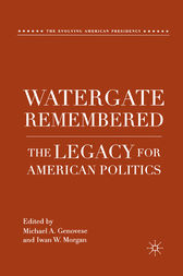 Watergate Remembered by M. Genovese