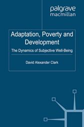 Adaptation, Poverty and Development by D. Clark