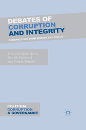 Debates of Corruption and Integrity by P. Hardi