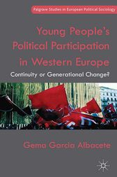 Young People's Political Participation in Western Europe by Gema Garcia Albacete