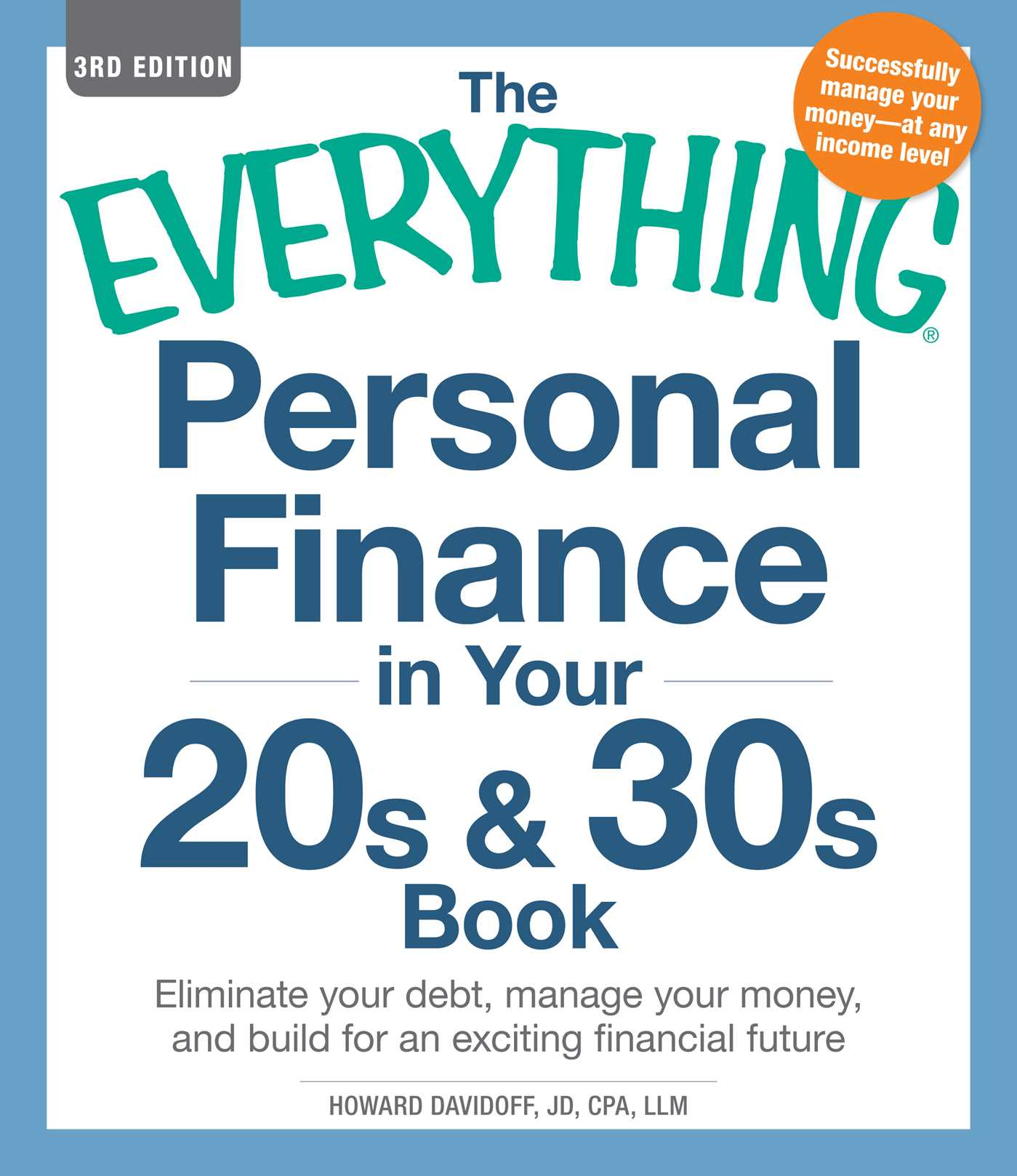 Download Ebook The Everything Personal Finance in Your 20s & 30s Book by Howard Davidoff Pdf