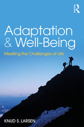 Adaptation and Well-Being by Knud S Larsen