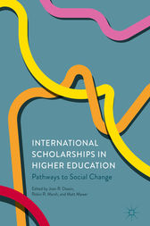 International Scholarships in Higher Education by Joan R. Dassin