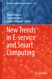 New Trends in E-service and Smart Computing by Tokuro Matsuo