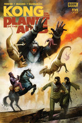 Kong on the Planet of the Apes #5 by Ryan Ferrier