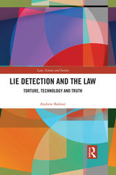 Lie Detection and the Law by Andrew Balmer