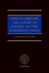 Appeals Before the Court of Justice of the European Union