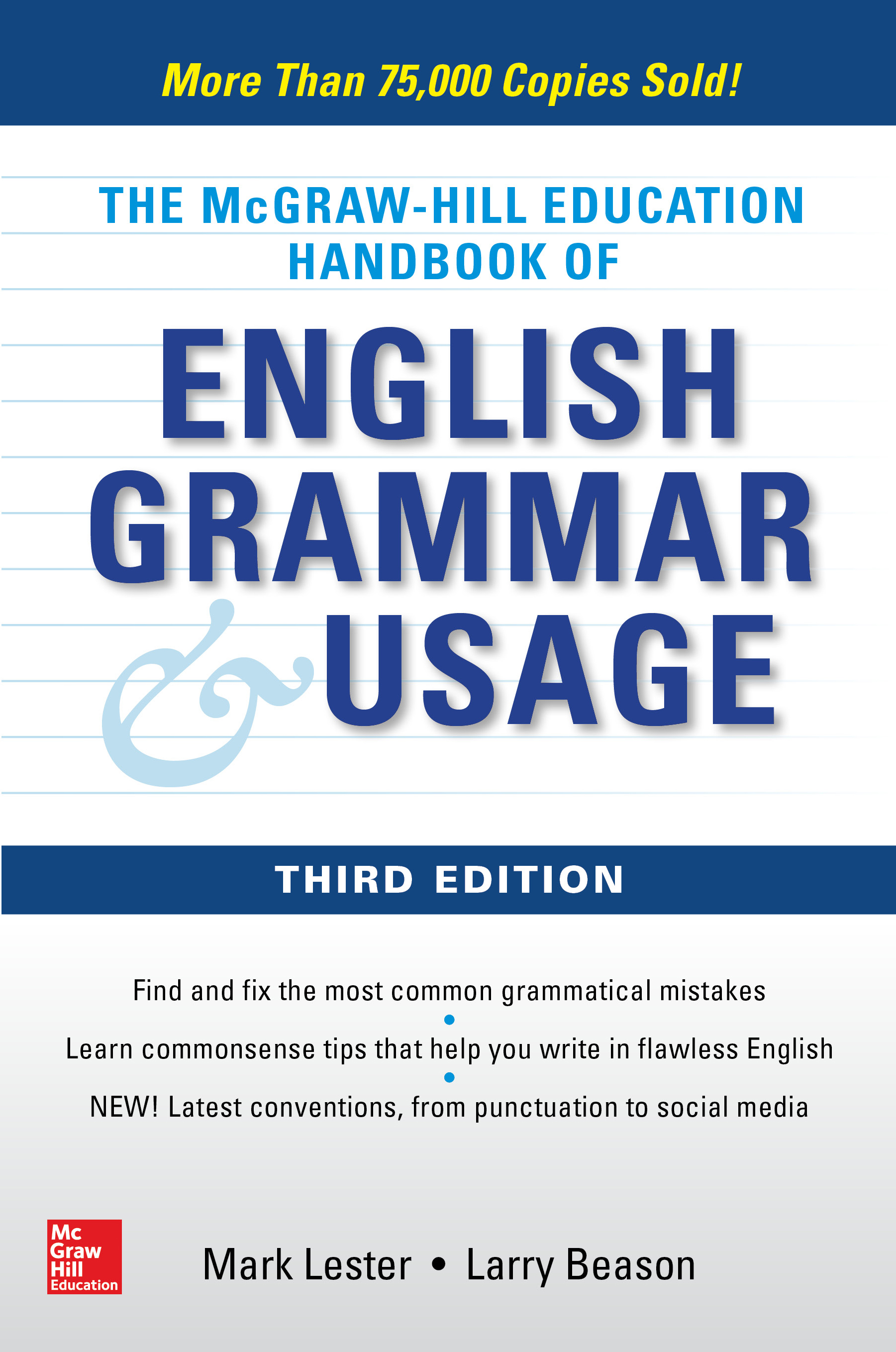 Download Ebook McGraw-Hill Education Handbook of English Grammar & Usage (3rd ed.) by Mark Lester Pdf